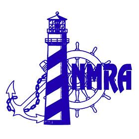 NMRA blueOn whiteSQUARE